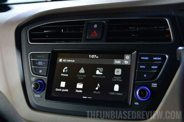 hyundai i20 facelift 2018 audio system