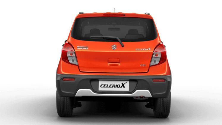 Maruti Suzuki Celerio X price, Maruti Suzuki Celerio X back