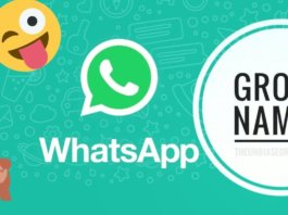 Whatsapp, whatsapp group names, group name, family group name, friends group name, names, whatapp group