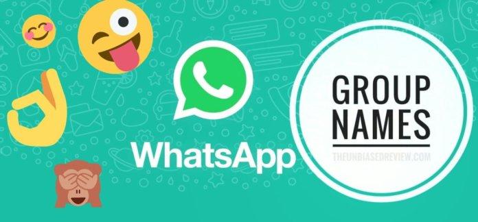 Whatsapp, whatsapp group names, group name, family group name, friends group name, names, whatapp group