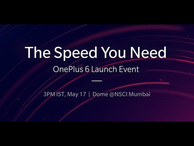 OnePlus, OnePlus 6, OnePlus 6 launch date, OnePlus 6 Price, OnePlus 6 India launch
