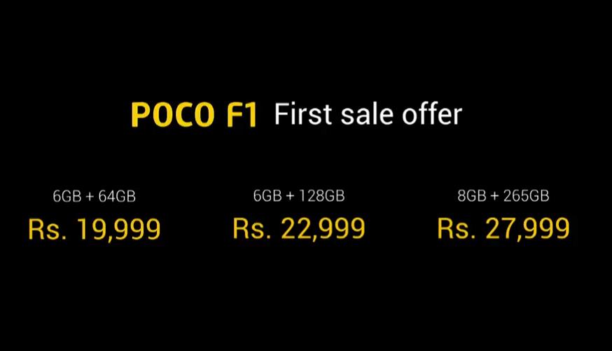Xiaomi, Pocophone, Poco F1, poco f1 features, Poco F1 price, Poco f1 specs, poco f1 colour options, poco f1 RAM options